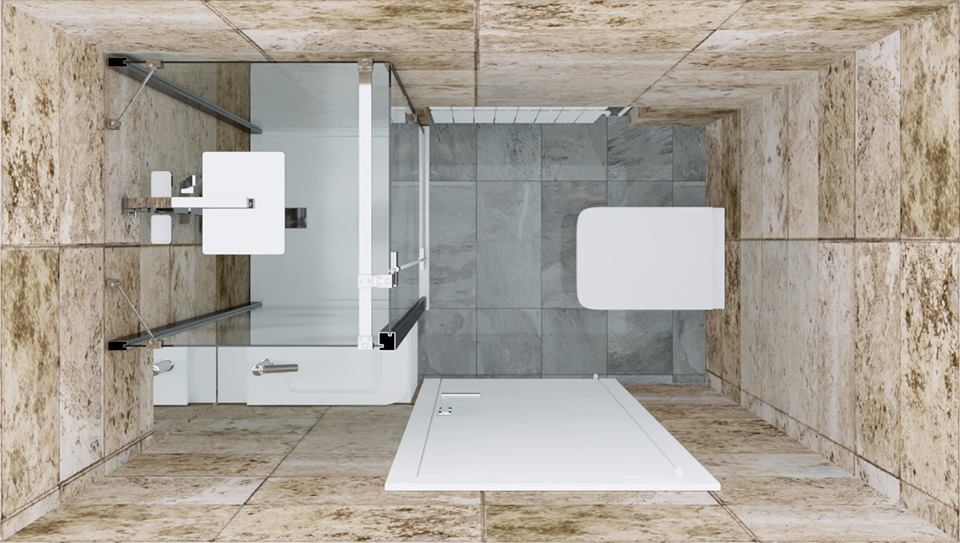 Progetto di un bagno - Studio Tecnico 69 Trieste