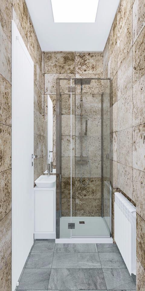 Progetto di un bagno studio tecnico 69 trieste for Arredo bagno trieste